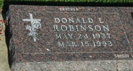 ROBINSON, DONALD L. - Emmet County, Iowa | DONALD L. ROBINSON