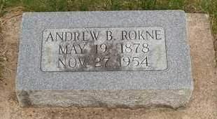 ROKNE, ANDREW B. - Emmet County, Iowa   ANDREW B. ROKNE