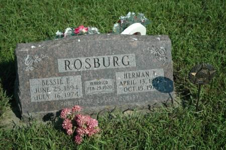 ROSBURG, HERMAN F. - Emmet County, Iowa | HERMAN F. ROSBURG