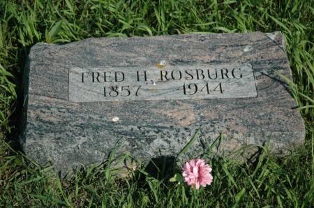 ROSBURG, FRED H. - Emmet County, Iowa | FRED H. ROSBURG