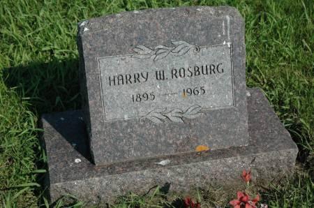 ROSBURG, HARRY W. - Emmet County, Iowa | HARRY W. ROSBURG
