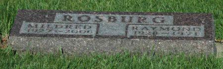 ROSBURG, MILDRED - Emmet County, Iowa | MILDRED ROSBURG