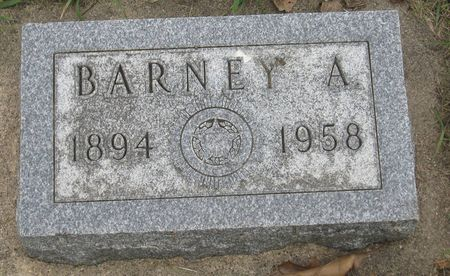 ROSENOW, BARNEY A. - Emmet County, Iowa | BARNEY A. ROSENOW