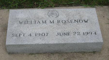 ROSENOW, WILLIAM M. - Emmet County, Iowa | WILLIAM M. ROSENOW