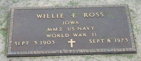 ROSS, WILLIE E. - Emmet County, Iowa | WILLIE E. ROSS