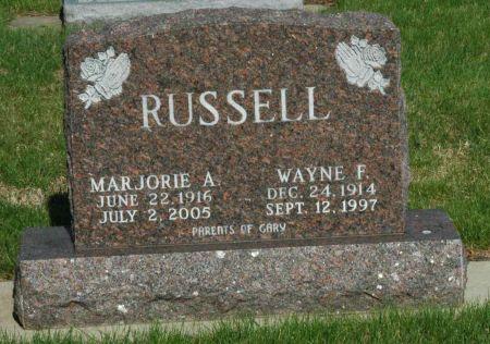 RUSSELL, MARJORIE A. - Emmet County, Iowa | MARJORIE A. RUSSELL