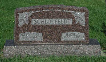 SCHLOTFELDT, BETTY JUNE - Emmet County, Iowa | BETTY JUNE SCHLOTFELDT