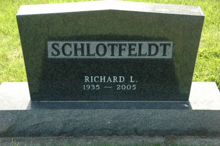 SCHLOTFELDT, RICHARD L. - Emmet County, Iowa | RICHARD L. SCHLOTFELDT