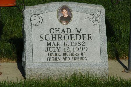 SCHROEDER, CHAD W. - Emmet County, Iowa   CHAD W. SCHROEDER
