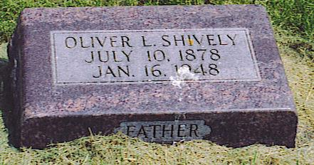 SHIVELY, OLIVER LIONEL - Emmet County, Iowa | OLIVER LIONEL SHIVELY