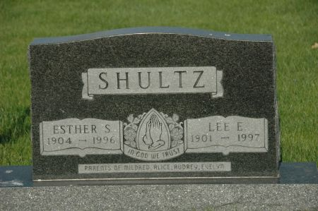 SHULTZ, ESTHER S. - Emmet County, Iowa   ESTHER S. SHULTZ