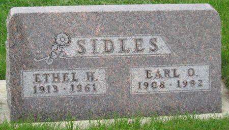 SIDLES, ETHEL H. - Emmet County, Iowa | ETHEL H. SIDLES