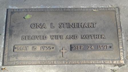 STINEHART, ONA L. - Emmet County, Iowa | ONA L. STINEHART