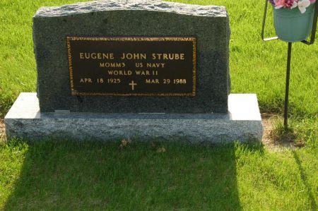 STRUBE, EUGENE JOHN - Emmet County, Iowa | EUGENE JOHN STRUBE