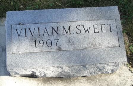 SWEET, VIVIAN M. - Emmet County, Iowa | VIVIAN M. SWEET