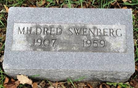 SWENBERG, MILDRED G. - Emmet County, Iowa | MILDRED G. SWENBERG