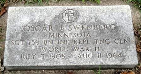 SWENBERG, OSCAR J. - Emmet County, Iowa | OSCAR J. SWENBERG