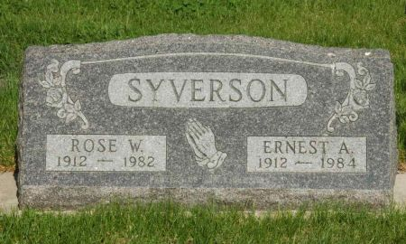SYVERSON, ROSE W. - Emmet County, Iowa | ROSE W. SYVERSON
