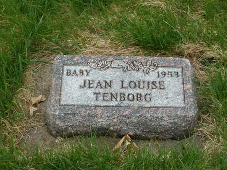 TENBORG, JEAN LOUISE - Emmet County, Iowa | JEAN LOUISE TENBORG