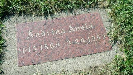 TOSDAL, ANDRINA ANELA - Emmet County, Iowa | ANDRINA ANELA TOSDAL