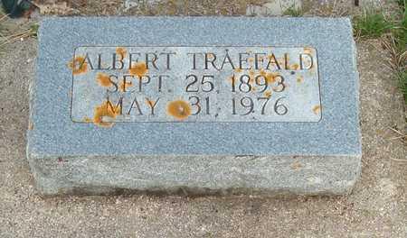 TRAEFALD, ALBERT - Emmet County, Iowa   ALBERT TRAEFALD