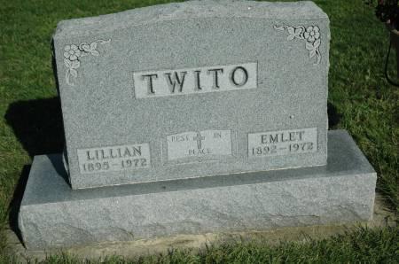 TWITO, LILLIAN - Emmet County, Iowa | LILLIAN TWITO