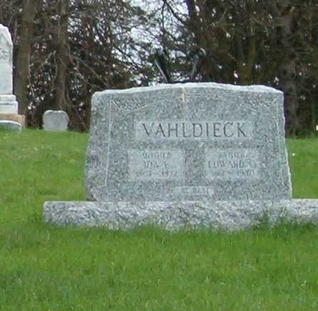 VAHLDIECK, EDWARD C. - Emmet County, Iowa | EDWARD C. VAHLDIECK