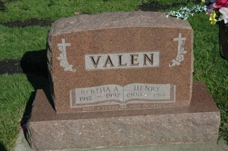 VALEN, HENRY - Emmet County, Iowa | HENRY VALEN