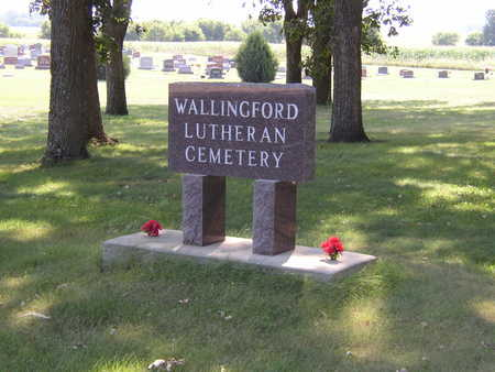 WALLINGFORD LUTHERAN, CEMETERY - Emmet County, Iowa | CEMETERY WALLINGFORD LUTHERAN