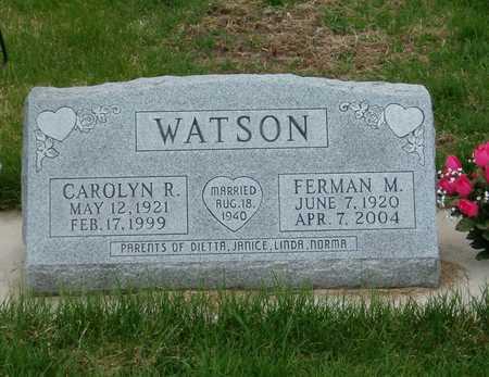 WATSON, CAROLYN R. - Emmet County, Iowa | CAROLYN R. WATSON