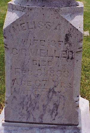 WELLER, ISABELLA MELISSA - Emmet County, Iowa   ISABELLA MELISSA WELLER