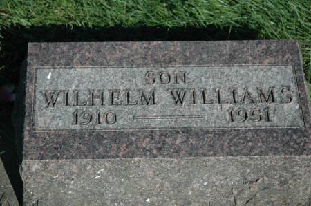 WILLIAMS, WILHELM - Emmet County, Iowa   WILHELM WILLIAMS