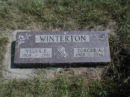 WINTERTON, VELVA E. - Emmet County, Iowa | VELVA E. WINTERTON