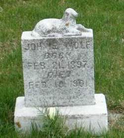 WOLF, JOHNIE - Emmet County, Iowa   JOHNIE WOLF