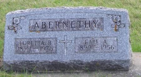 ABERNETHY, LORETTA B - Fayette County, Iowa | LORETTA B ABERNETHY