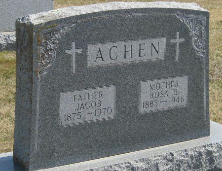 ACHEN, JACOB - Fayette County, Iowa | JACOB ACHEN
