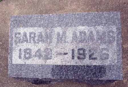 JAMISON ADAMS, SARAH M. - Fayette County, Iowa | SARAH M. JAMISON ADAMS