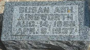 JAMES AINSWORTH, SUSAN T. - Fayette County, Iowa | SUSAN T. JAMES AINSWORTH