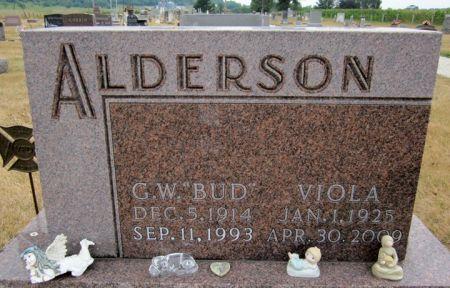 ALDERSON, VIOLA - Fayette County, Iowa | VIOLA ALDERSON
