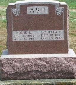 SEARLES ASH, LOUELLA FRANCES - Fayette County, Iowa | LOUELLA FRANCES SEARLES ASH