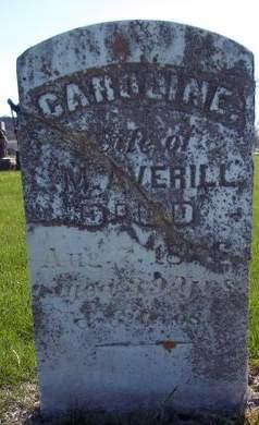 AVERILL, CAROLINE - Fayette County, Iowa   CAROLINE AVERILL