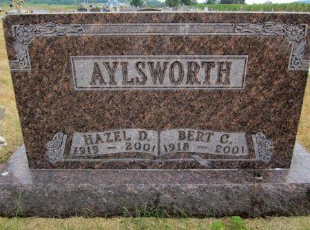 ALYSWORTH, HAZEL - Fayette County, Iowa   HAZEL ALYSWORTH