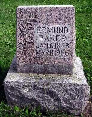 BAKER, EDMUND - Fayette County, Iowa | EDMUND BAKER