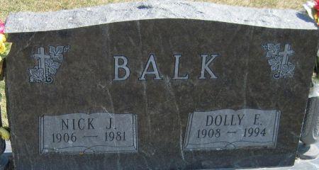 BALK, DOLLY E - Fayette County, Iowa | DOLLY E BALK