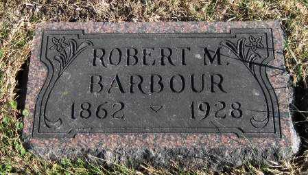 BARBOUR, ROBERT MURRAY - Fayette County, Iowa | ROBERT MURRAY BARBOUR