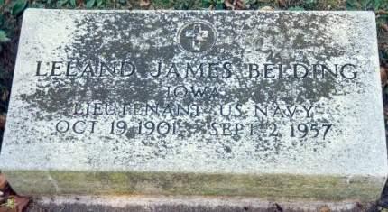 BELDING, LELAND JAMES - Fayette County, Iowa | LELAND JAMES BELDING