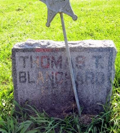BLANCHARD, THOMAS THEODORE - Fayette County, Iowa | THOMAS THEODORE BLANCHARD