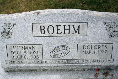 BOEHM, HERMAN - Fayette County, Iowa   HERMAN BOEHM