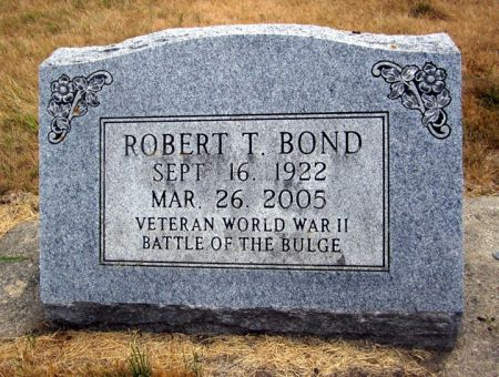 BOND, ROBERT T. - Fayette County, Iowa | ROBERT T. BOND