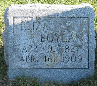 BOYLAN, ELIZA - Fayette County, Iowa | ELIZA BOYLAN
